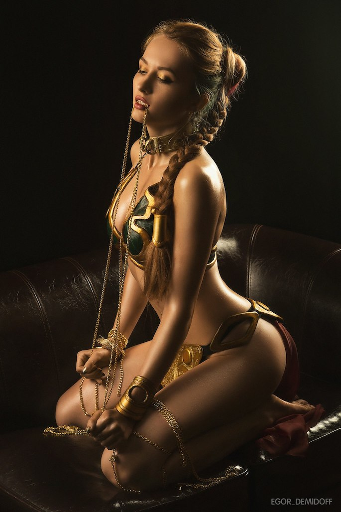 naked star wars leia