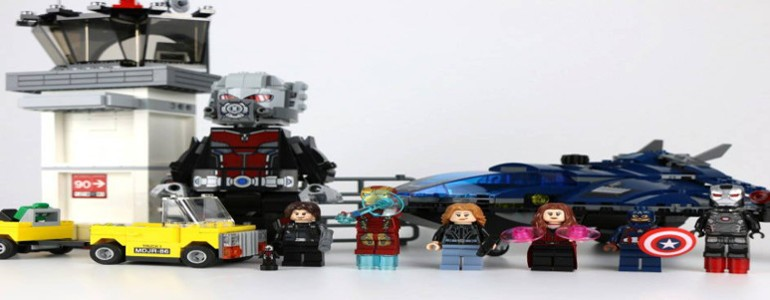 'Lego 76051 Super Hero Airport Battle' Review