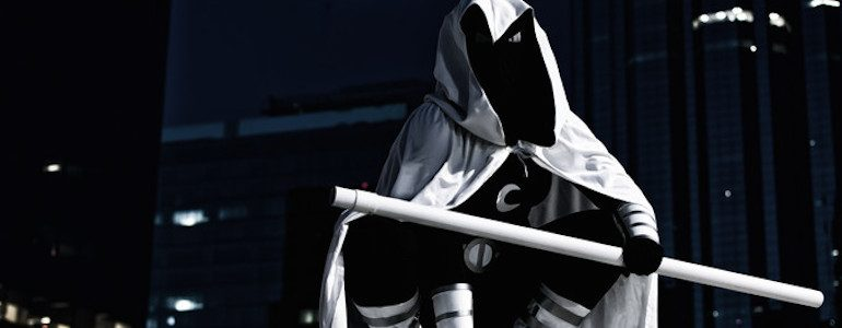 Fantastic Genderbent Moon Knight Cosplay