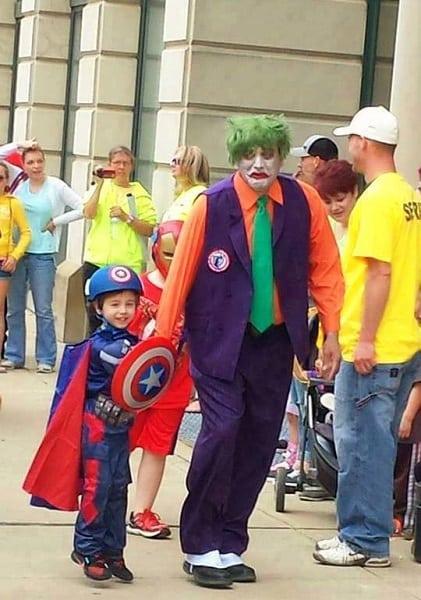 Cap gets the Joker