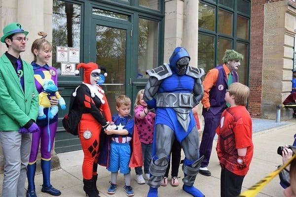 Darkseid arrested