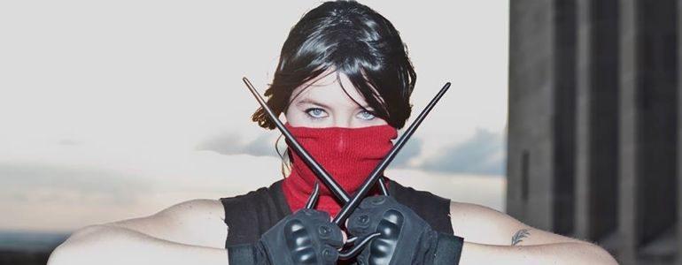 Hot Elektra Cosplay