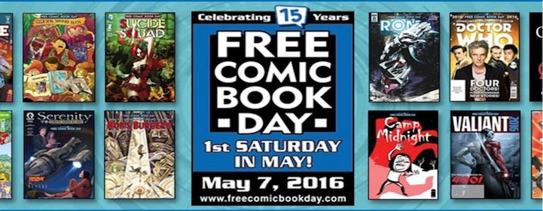 Free Comic Book Day With Project-Nerd