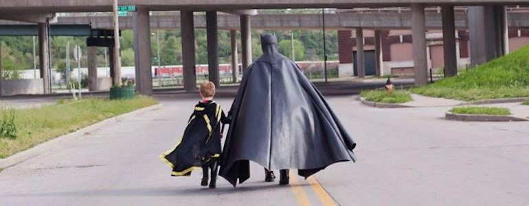 Batman and Robin: The Dynamic Duo Cosplay