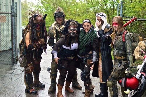 Indy Mad Max Run, 2, IndyMadMaxRun, Mad Max, Mad Max Fury Road, Fury Road, post apocalyptic, apocalypse, cosplay, biker, Harley Davidson, Harley, bike babes, morocycles 2