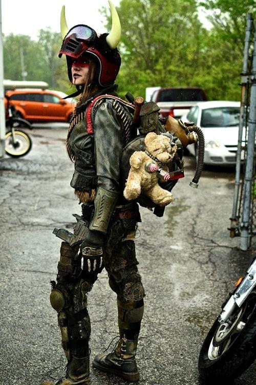 Indy Mad Max Run, IndyMadMaxRun, Mad Max, Mad Max Fury Road, Fury Road, post apocalyptic, apocalypse, cosplay, biker, Harley Davidson, Harley, bike babes, morocycles 15