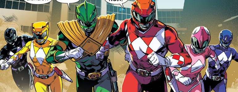 'Mighty Morphin Power Rangers #0' Review