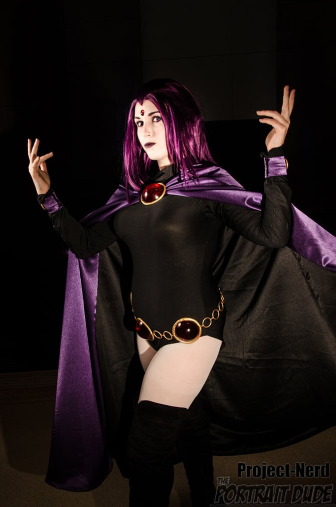 Cool Raven Cosplay Project Nerd