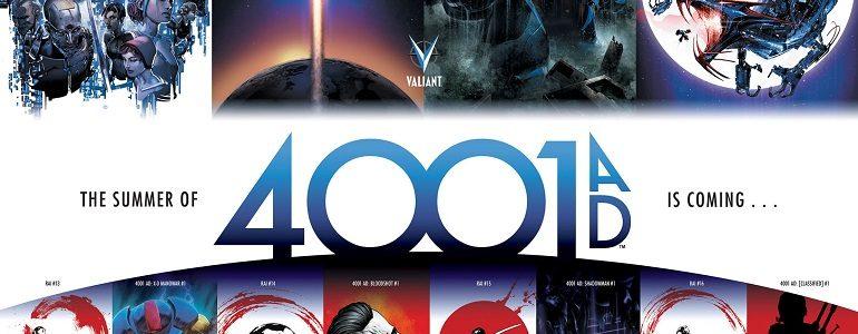 Preview: '4001 A.D. #2' [Valiant]