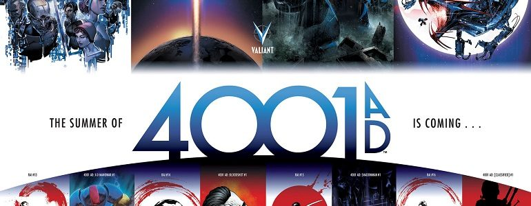Preview: '4001 A.D. #2' [Valiant]