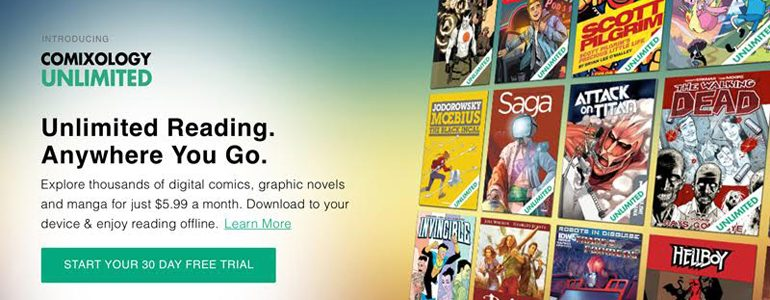 ComiXology Unlimited Announcement