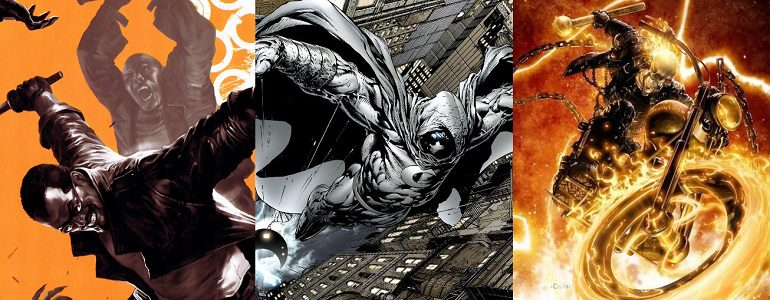 Could Blade, Moon Knight, and Ghost Rider Be Heading to Netflix?