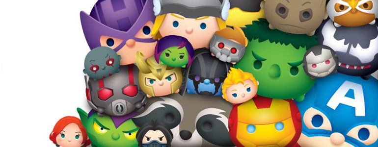 August Is Tsum Tsum Variant Month at Marvel!