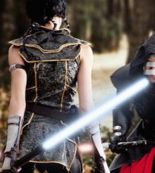 Grand Master Vs Pureblood (Star Wars) Cosplay