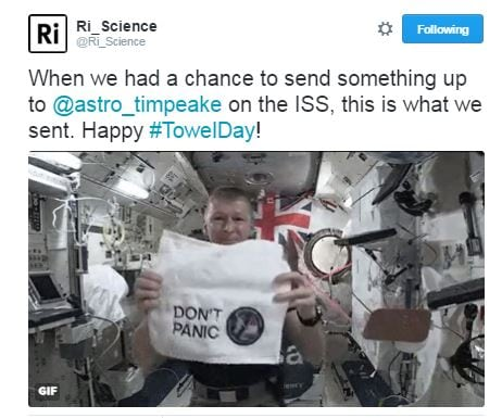 towel day