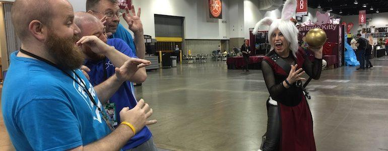 Project-Nerd at Denver Comic Con