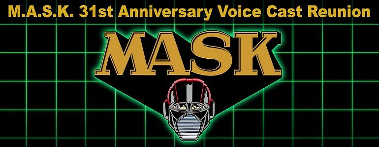 M.A.S.K. 31st Anniversary Voice Cast Reunion at SDCC 2016 and Kickstarter