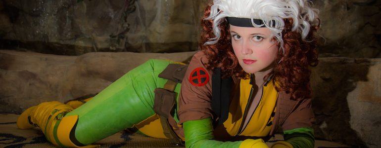 Rogue Pinup Cosplay Shoot