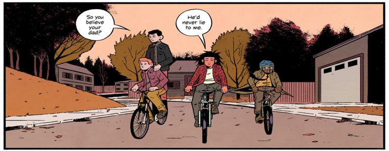 '4 Kids Walk Into a Bank #2' Comic Review