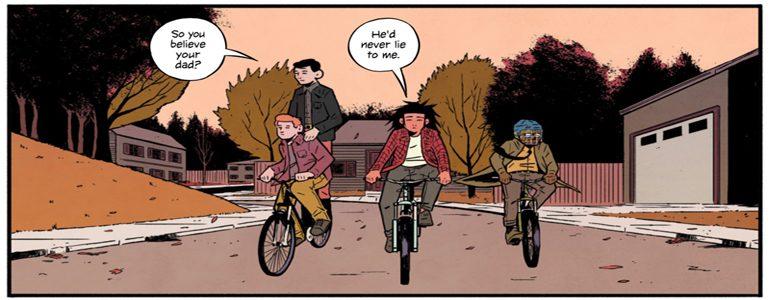 '4 Kids Walk Into a Bank #2' Comic Review