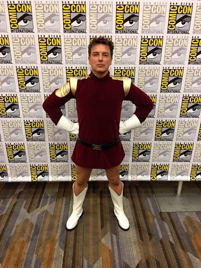 Eisner Awards John Barrowman