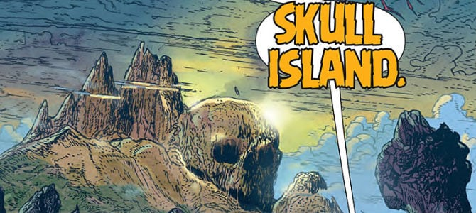 Kong of Skull Island #1: The Island Itself