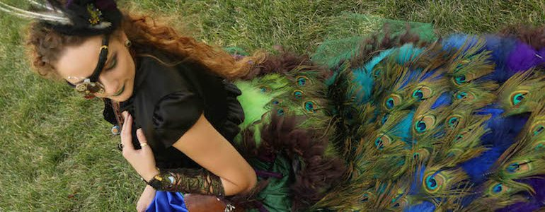 Epic Peacock Dress (Costume) Found at OCC