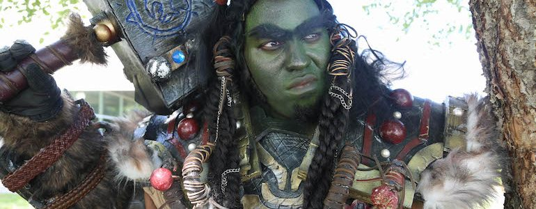 Epic Thrall (Cosplay) Ready for Battle