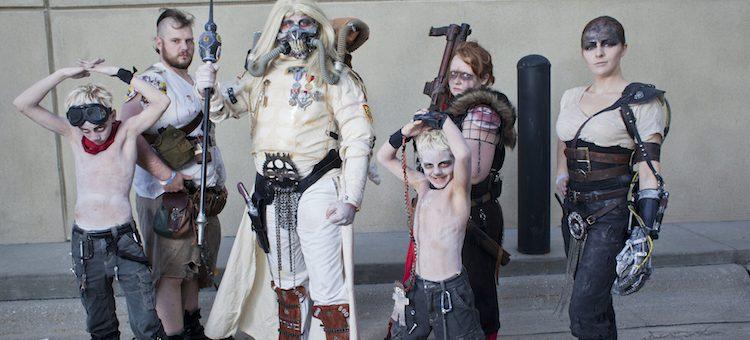 Wastelanders Attack Omaha (Cosplay)