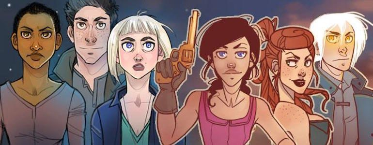 Off-Colored Hair & Cowgirls: Interview with Comic Creator K. Lynn Smith