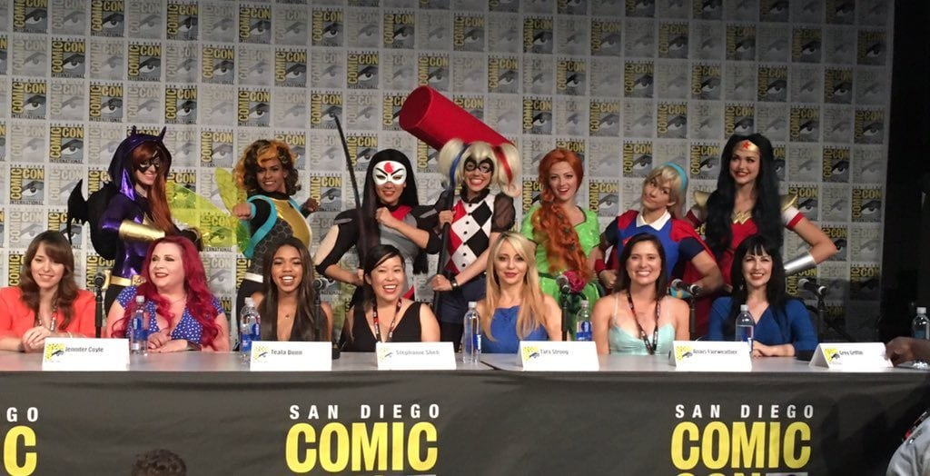 Super Hero Girls Panel