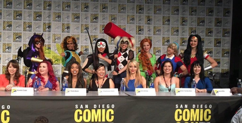 Super Hero Girls Panel