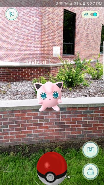 catching a pokemonY