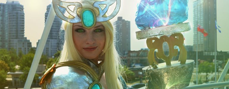 Janna Cosplay brewing up a Storm