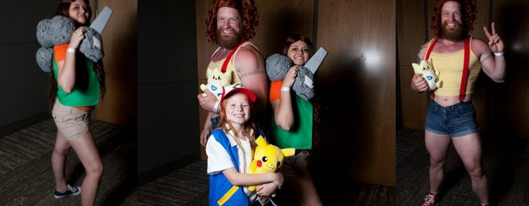 Pokemon Trainers at Their Best (Cosplay)