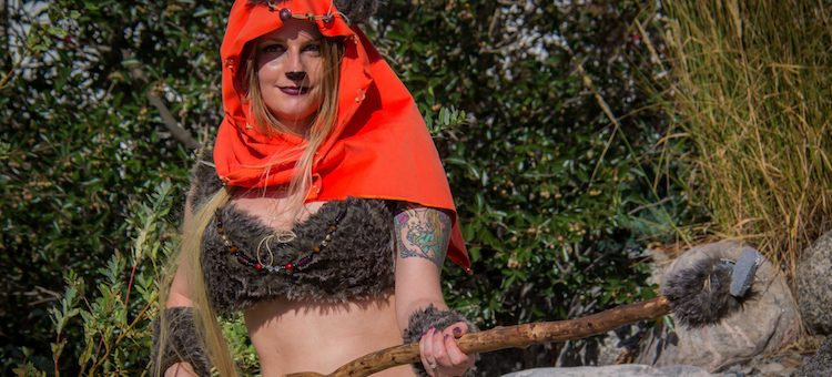 Adorable Ewok Cosplay Invades CSCC