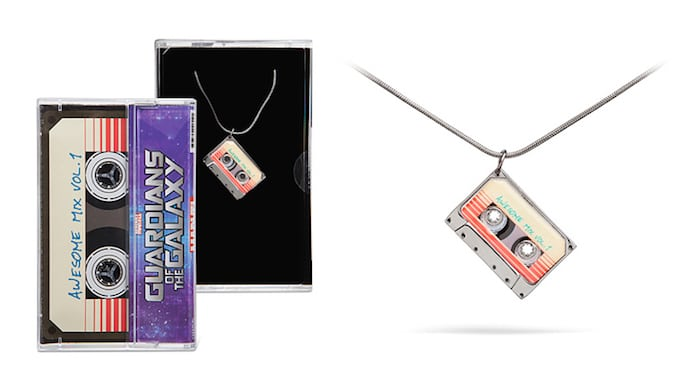 Guardians of the Galaxy Awesome Mix Vol 1 Pendant Necklace