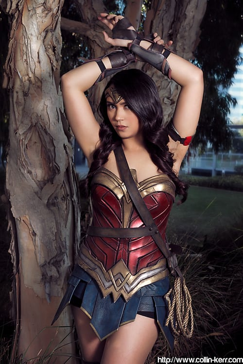 HAnnie Cosplay Wonder Woman 2