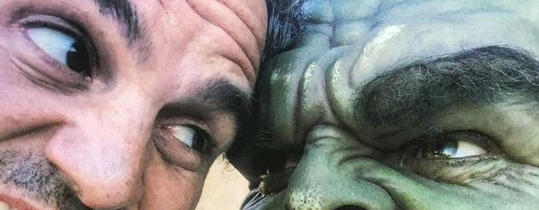 Mark Ruffalo Delights Fans With Behind-the-Scenes Photos From 'Thor: Ragnarok'