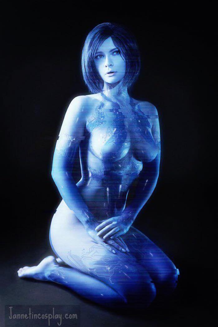 Jannet Incosplay Vinogradova Cortana Cosplay 1