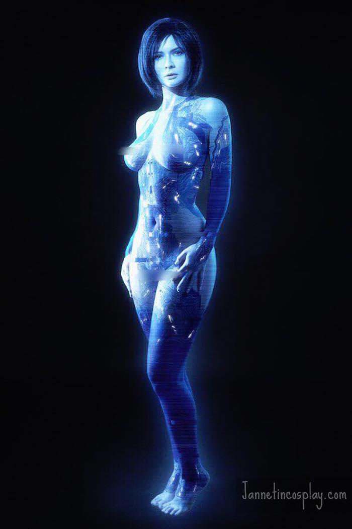 Jannet Incosplay Vinogradova Cortana Cosplay 5