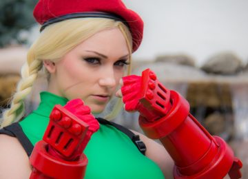 Kickass Cammy Cosplay