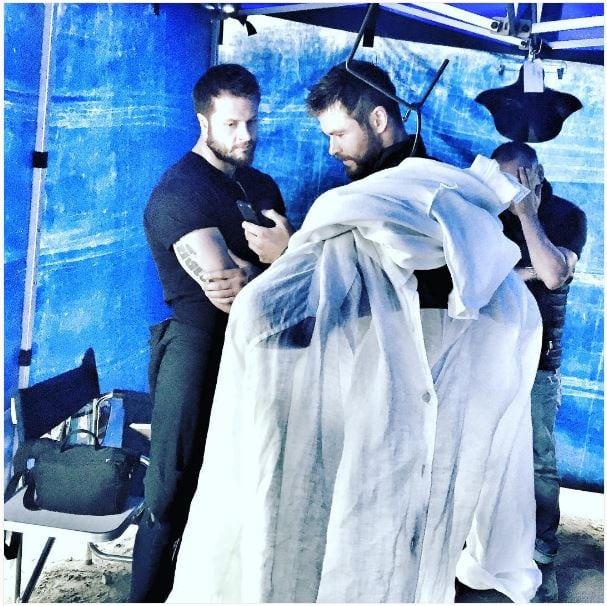 Mark Ruffalo Chris Hemsworth