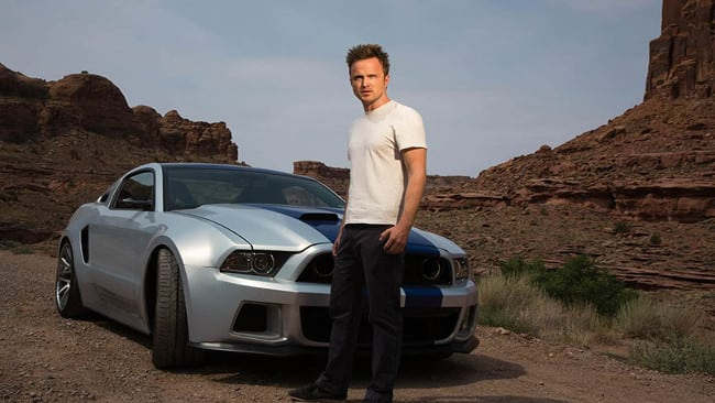 This actor made the movie. If only Aaron Paul would get out of the shot.