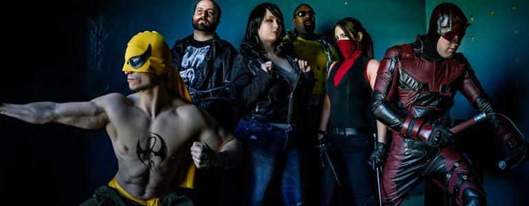 The Defenders Photoshoot