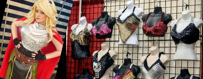 Small Business Spotlight – Amanda Lynn Chainmaille and Scalemail