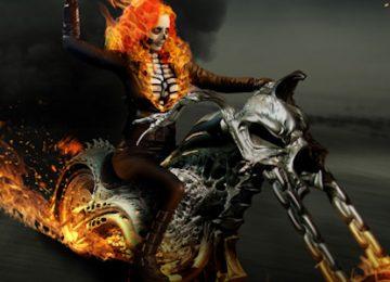 Genderbent Ghost Rider Cosplay
