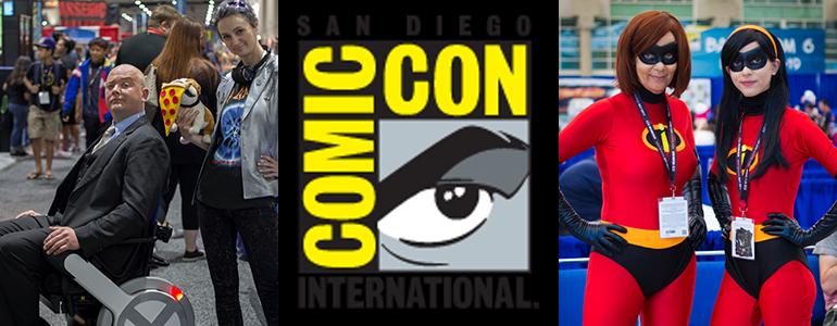 San Diego Comic Con Floor Photos Day 4