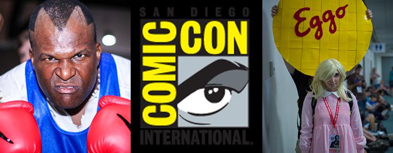 San Diego Comic Con Floor Photos Day 3