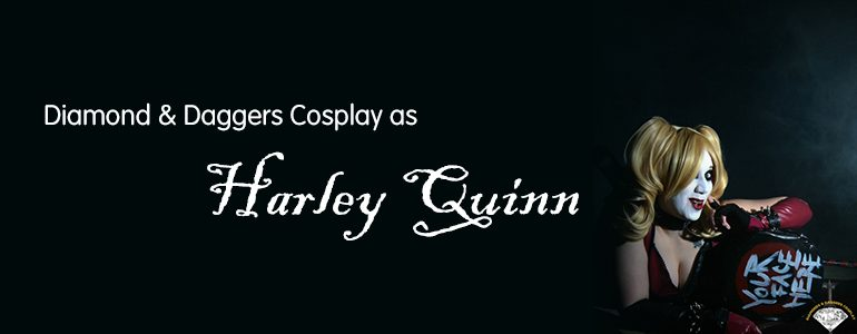 Harley Quinn Cosplay by Diamond & Daggers